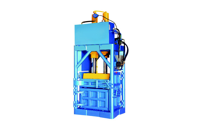 YL81 series vertical hydraulic baling presses are modified
